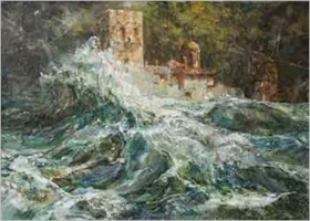 "Gallery Renaissance presents ""Athos – the cradle of faith"" painting exhibition by Vasil Petrov"