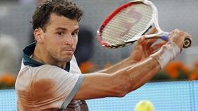 Tennis: Grigor Dimitrow schlägt die Nummer eins Novak Djokovic