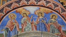 VYARA, NADEZHDA and LYUBOV (Faith, Hope and Love) and their mother SOPHIA