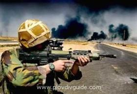 Bulgarian ranger got killed in Iraq yesterday