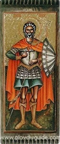 Heute ist der Gedenktag von St. Menas (auch Minas), St. Victor und St. Vicentius