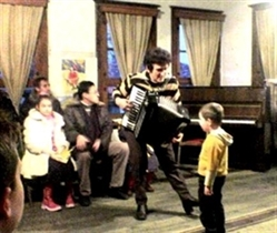 Christmas concert at the Childrens Arts Center in the Old Town