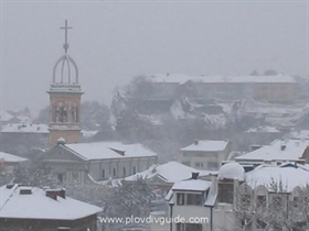 Snow in Plovdiv at last !