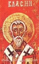 Today is ST.VLASSIOS/ BLASSIOS (also as Hieromartyr Blaise) Feastday
