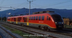 High -speed train running through Plovdiv very soon