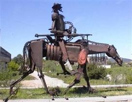 Celebrating the 400th anniversary of the Miguel Servantes? novel ?Don Quixote?